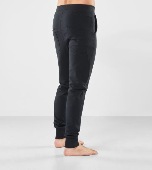 Arjuna Broek - Urban Black - Yoga broek voor mannen