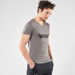 Grijze yoga t-shirt Moksha voor mannen