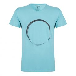 Heren Yoga tee Moksha Zen - Sea Green
