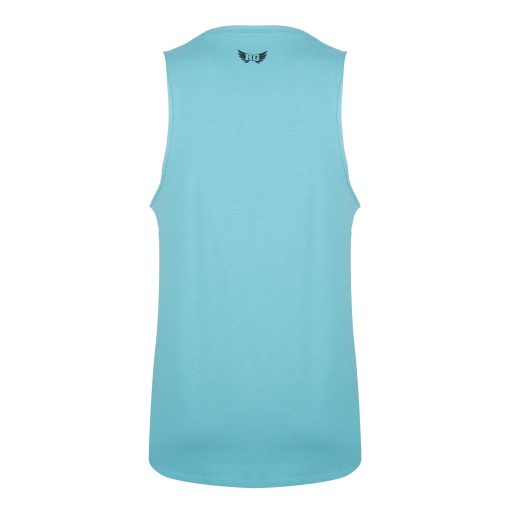 Heren yoga tank Moksha - Sea Green