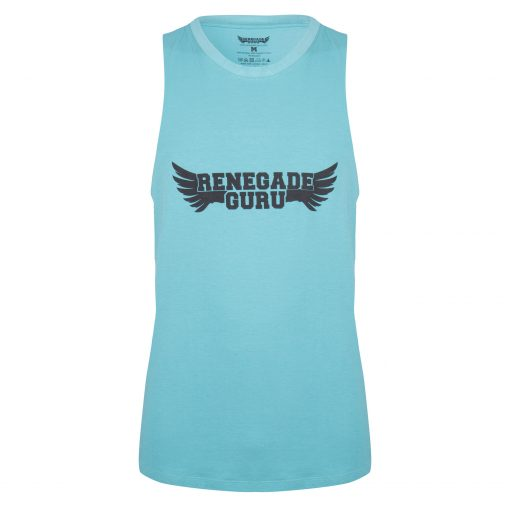 Moksha yoga tank - Sea Green van Renegade Guru