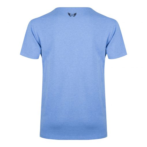 Moksha Yoga Tee - Blue Space voor mannen