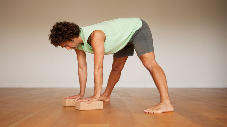 Yoga Sequence for men pose 2