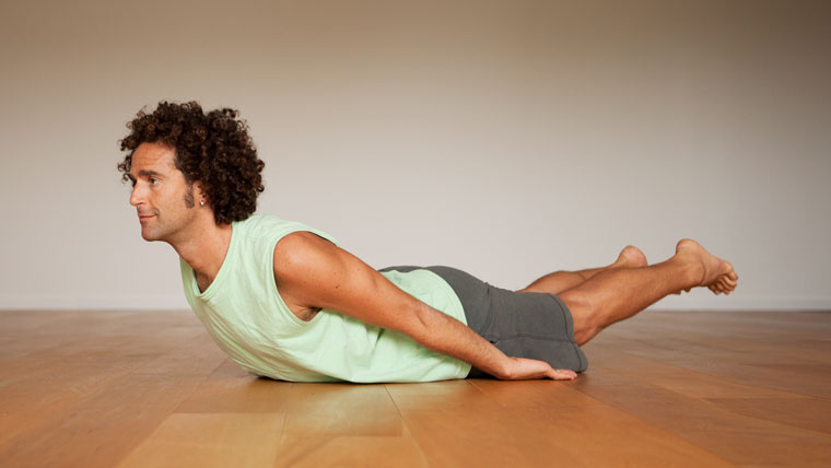 Yoga Sequence for men pose 3