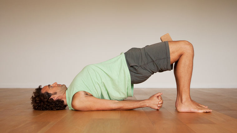 Yoga Sequence for men pose 4