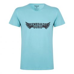 Moksha yoga tee - Sea Green voor mannen