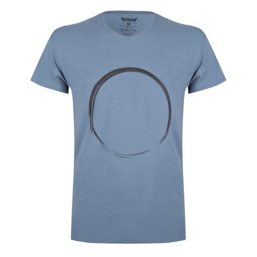 Moksha Zen yoga t-shirt - Green Earth voor mannen
