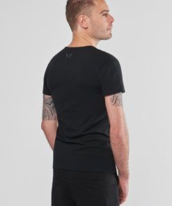 Men's Organic Extra Tall Yoga Tee - Urban Black by Renegade Guru
