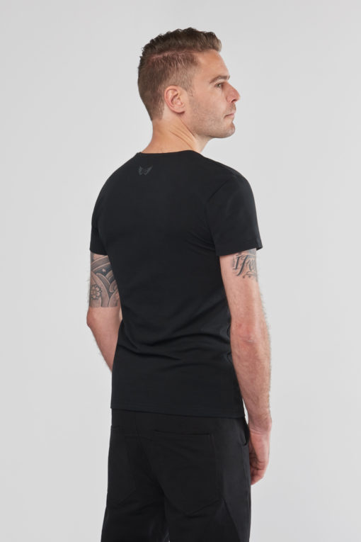 Men's Organic Extra Tall Yoga Tee - Urban Black by Renegade Guru
