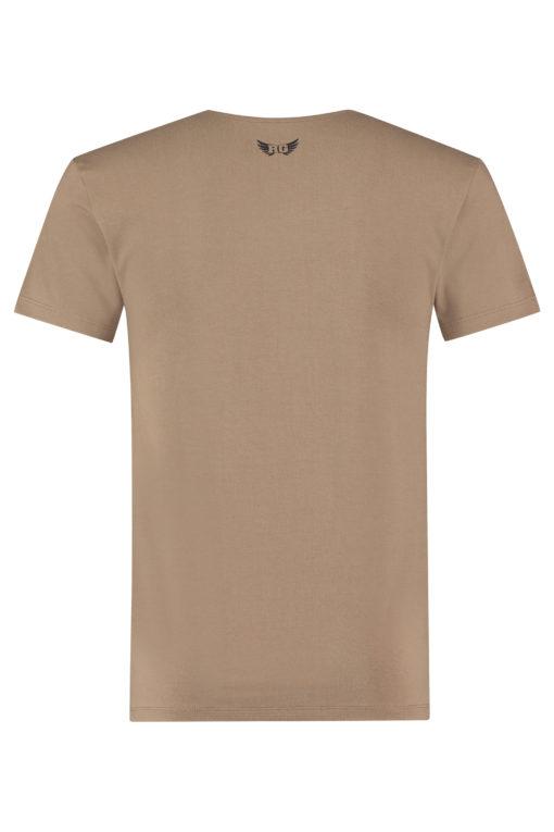 Heren yoga shirt Moksha Inca Cacao
