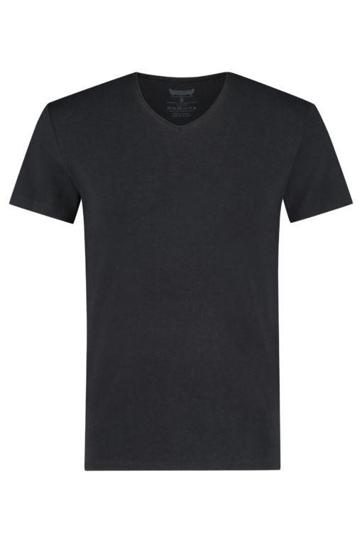 Bamboe Shirt Moksha Tee Urban Black